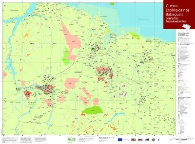 MAPA - Guerra ecológica dos Babaçuais: conflitos socioambientais - outubro 2005