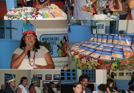 """Lançamento do Fascículo: """"Deslocamentos de Mulheres Indígenas da Guyana: enfrentando preconceitos e valorizando os conhecimentos tradicionais""""."""