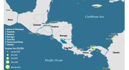 HONDURAS PARTICIPA DA ESTRATÉGIA GEOPOLÍTICA NA CONSTRUÇÃO DE CANAIS INTEROCEÂNICOS