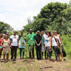 Visita da equipe do Quênia à Amazônia