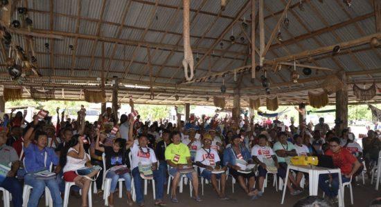 """""""Unir para Organizar, Fortalecer para Conquistar"""": Indígenas da Amazônia demonstram organização e força em Assembleia da COIAB"""
