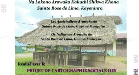 Invitation Au Lancement du Fascicule le 10 Février 2018 - Na Lokono Arowaka Kakuthi Shikwa Khona - Sainte Rose de Lima, Kayeninro