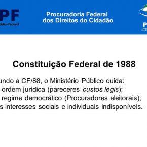 Procuradoria Federal dos Direitos do Cidadão, do MPF, aponta ilegalidades na intervenção no Rio