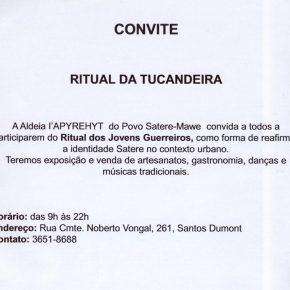 Convite: Ritual da Tucandeira - 19 de abril de 2018 Manaus - AM