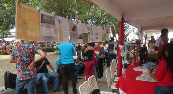 BOLETÍN 4 - CANTO, CAMPO Y TRADICIÓN EN SAN JOSÉ DE BARLOVENTO - VENEZUELA em LANÇAMENTO DURANTE A COMEMORAÇÃO DO DIA DA MUNICIPALIDAD NO ESTADO MIRANDA, VENEZUELA