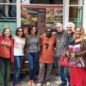 Lançamento do livro da Sra Querubina em Sao Luis (MA), na Fetaema