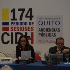 174 Periodo de sesiones de la CIDH - 8 a 14 noviembre - Quito, Ecuador