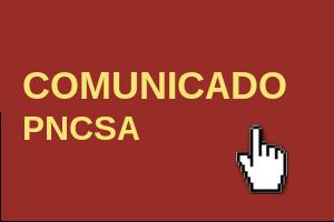 Comunicado PNCSA - 17/03/2020