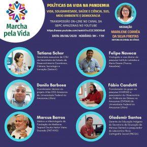 PNCSA na Marcha Virtual pela Vida contra os gestores do território da morte - 09/06/2020