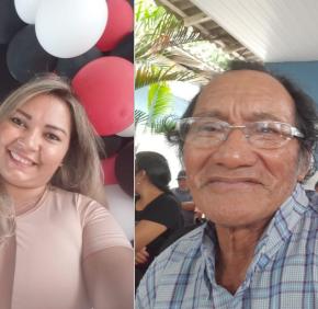 NOTA DE PESAR: PROFESSORA MAIKA E PROFESSOR LUIZ EMILIANO
