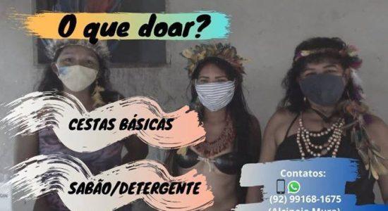 Ajude as Comunidades Indígenas de Manaus