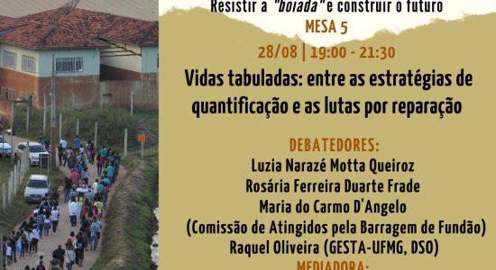 V Ciclo de Debates Gesta - Insurgências em Tempos de Destruição - 28 de agosto