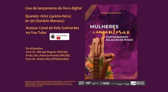 Live de lançamento do livro digital Mulheres Compositoras - 18/02/2021