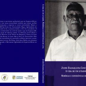 """Lançamento livro """"A Vida de um Lutador. Memórias e Experiências de Lutas"""" de Justo Evangelista Conceição - Coleção Narrativas Quilombolas"""