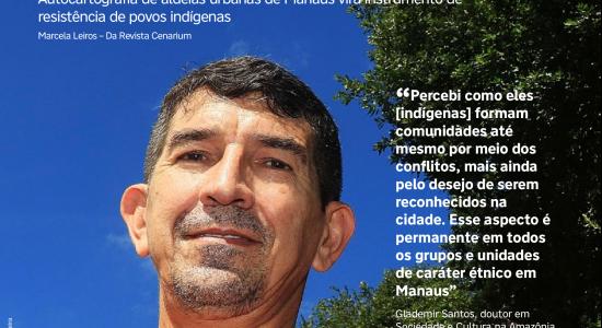 Saudades do Sr. Paulino Karapaña com Glademir, antropólogo de fato, e Maria Alice Karapaña
