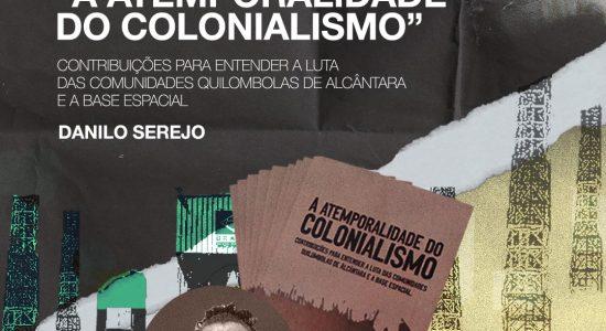 """Live de lançamento do livro """"A atemporalidade do colonialismo"""" - 29/07/2021 as 10h00"""